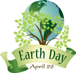 Celebrate Earth Day 2020 at home - Dated Logo