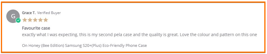 Best Non-Toxic Phone Case - Customer Review 2