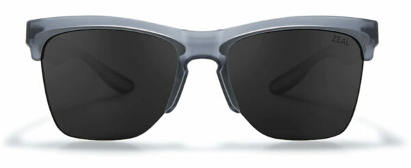 eco friendly sunglasses - Zeal half rimmed