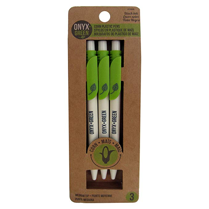 Eco Friendly School Supplies -Pens made from recycled milk cartons