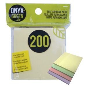 Eco Friendly School Supplies - Recycled Paper Sticky Notes