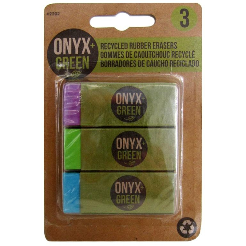 Eco Friendly School Supplies - Recycled Rubber Erasers