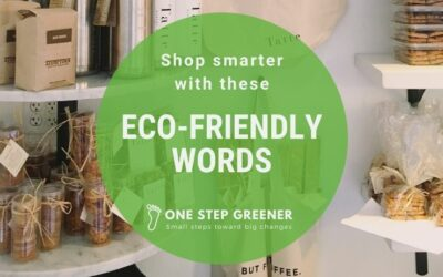 Eco-Friendly words to make shopping easier