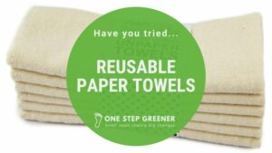 Reusable Paper Towels - Featured Image