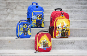 eco friendly school backpacks - LEGO Backpack and lunch pack