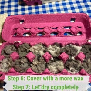 Can Egg Cartons be Recycled - Egg Carton Fire Starters 05