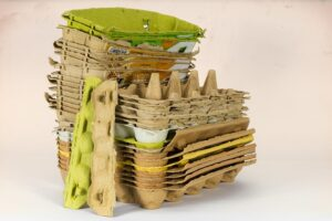 Can Egg Cartons be Recycled - Egg Carton Stack