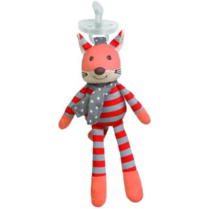 Eco Friendly Gifts for Kids - Frenchy Fox Pacifier Buddy