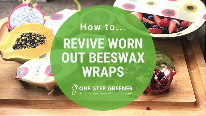 How to revive your beeswax food wraps without an iron