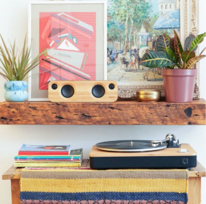 eco friendly gifts - speaker and turn table