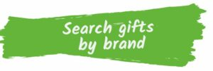 Search gifts by brand